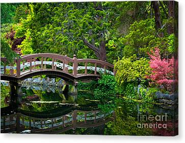 Hatley Bridge Canvas Print