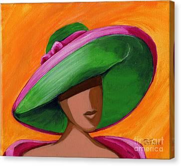 Hats For A Princess 2 Canvas Print