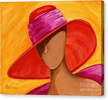 Hats For A Princess Canvas Print