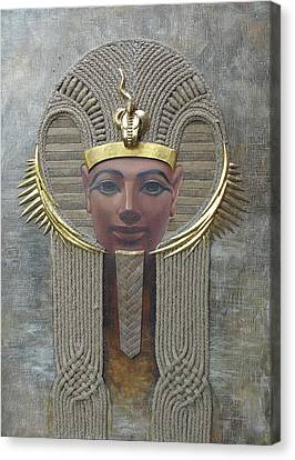 Hatshepsut Canvas Print by Valentina Kondrashova