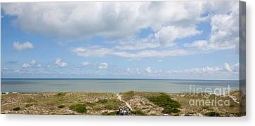 Hatteras Island View Canvas Print by Kay Pickens