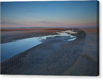 Hatteras Tidal Pools II Canvas Print by Steven Ainsworth