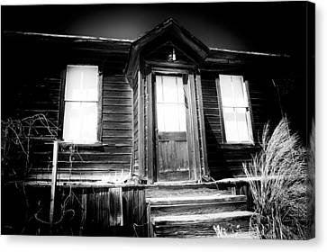 Haunted Canvas Print by Cat Connor