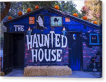 Haunted House Canvas Print by Garry Gay