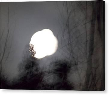 Haunted Night 2 Canvas Print