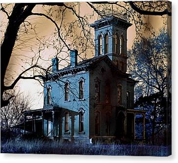 Haunted Sauer Castle Canvas Print by Christopher McKenzie
