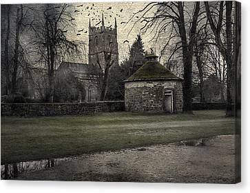 Haunted Village Canvas Print by Svetlana Sewell