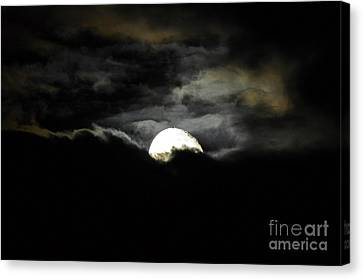 Haunting Horizon Canvas Print by Al Powell Photography USA
