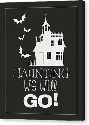 Haunting Canvas Print by Katie Pertiet