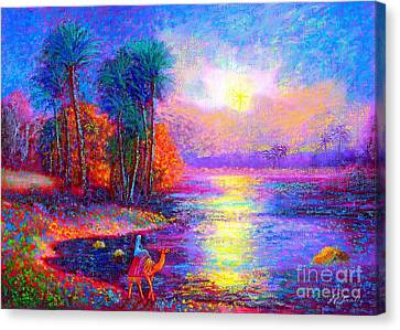 Starlight Canvas Print - Haunting Star by Jane Small