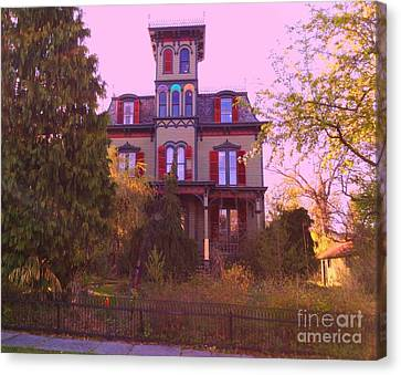 Canvas Print featuring the photograph Hauntingly Victorian 1 by Becky Lupe