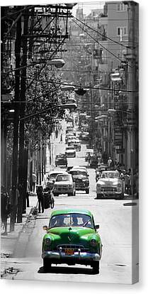 Havana 25c Canvas Print by Andrew Fare