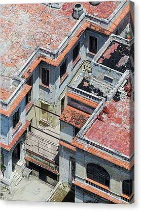 Havana Rooftop Canvas Print by Rob Huntley