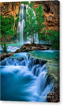 Grand Canyon National Park Canvas Print - Havasu Paradise by Inge Johnsson