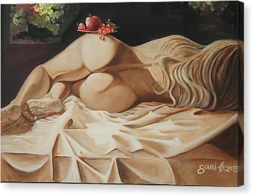 Have A Bite Canvas Print by Gani Banacia