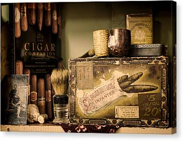 Have A Cigar Canvas Print by Heather Applegate
