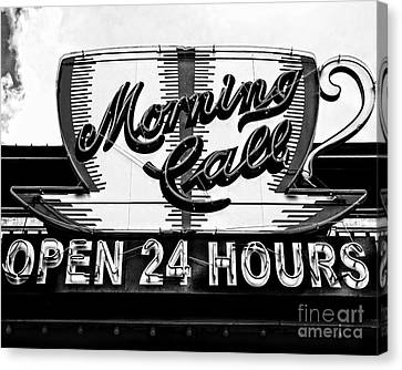 Have A Cup Of Coffee At Morning Call New Orleans Canvas Print by Kathleen K Parker