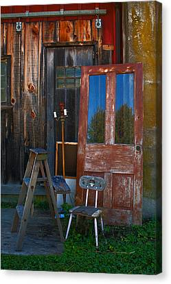 Have A Seat Canvas Print by Michael Porchik