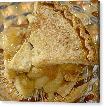 Have A Slice Of Apple Pie Canvas Print by Susan Leggett