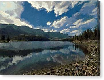 Haviland Lake Canvas Print by Jeff Kolker
