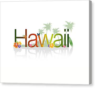 Hawaii Canvas Print by Aged Pixel