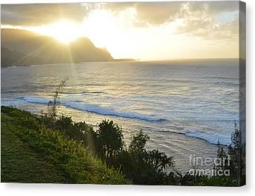 Hawaii - Bali Hai Sunset Canvas Print