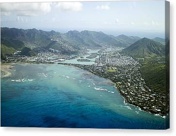 Hawaii Kai Aerial Canvas Print