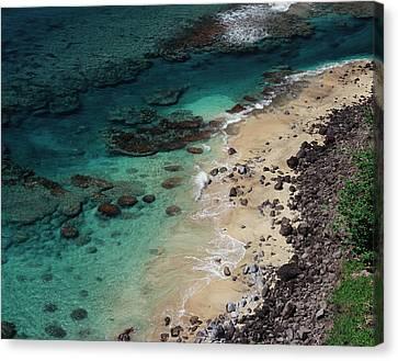 Hawaii, Kauai, Haena State Park, A View Canvas Print by Christopher Talbot Frank