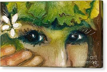 Hawaiian Eyes Canvas Print