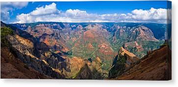 Hawaiian Grand Canyon Canvas Print