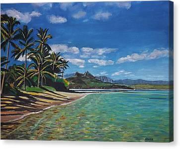 Hawaiian Paradise Canvas Print by Richard Nowak