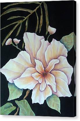 Hawaiian Pua Canvas Print by Pamela Allegretto