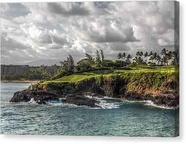 Hawaiian Shores Canvas Print by Bill Lindsay