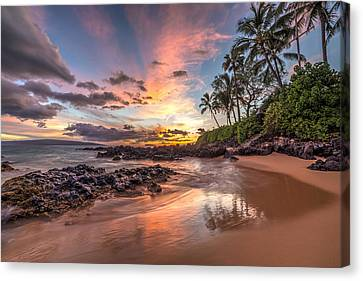 Hawaiian Sunset Wonder Canvas Print