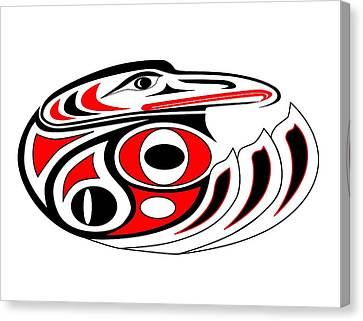 Hawk Whorl II Canvas Print by Fred Croydon