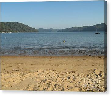 Canvas Print featuring the photograph Hawksbury River From Dangar Island by Leanne Seymour