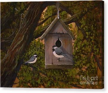Hawthorne House Canvas Print