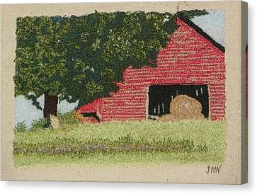 Hay Barn Canvas Print by Jenny Williams