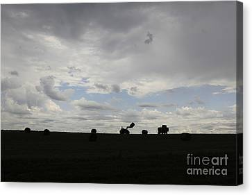 Hay Day Hall Canvas Print