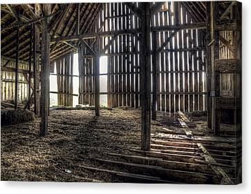 Timber Canvas Print - Hay Loft 2 by Scott Norris