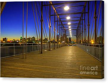 Hays Street Bridge Canvas Print