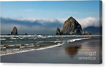 Haystack Canvas Print by Robert Bales