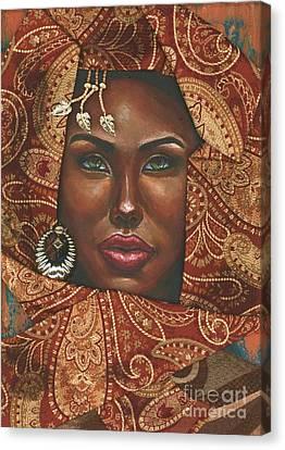 Hazel Eyes Canvas Print