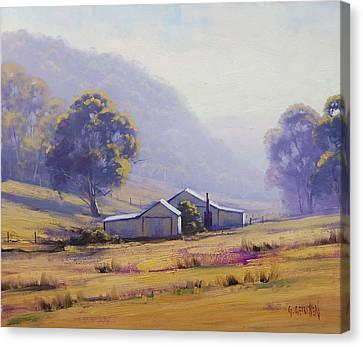 Hazy Morning Canvas Print by Graham Gercken