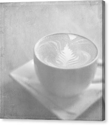 Canvas Print featuring the photograph Hazy Morning Moments by Lisa Parrish