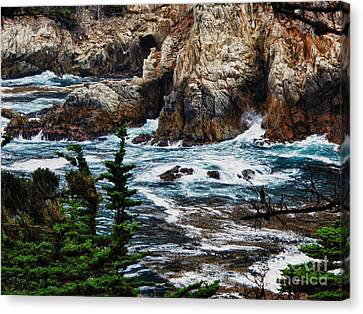 hd 429 The Toe 3 Canvas Print by Chris Berry