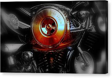 Hd Fatboy Collage Canvas Print