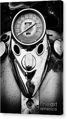 Speedometer Canvas Print - Hd Mph by Tim Gainey