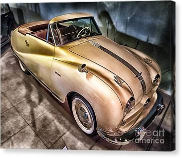 Canvas Print featuring the photograph Hdr Classic Car by Paul Fearn