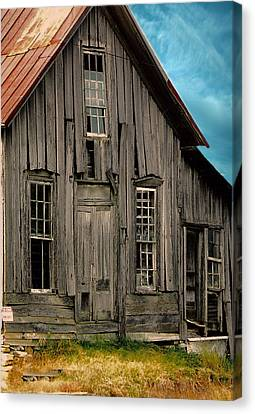Shack Of Elora Tn  Canvas Print by Lesa Fine